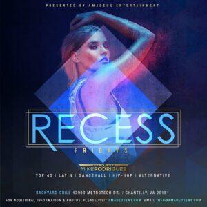 Friday Night Recess with DJ