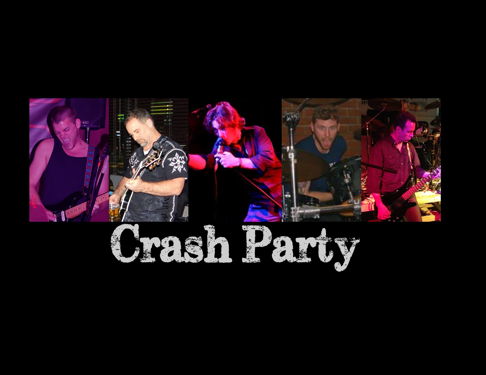 Live Music Crash Party Backyard Grill Restaurant