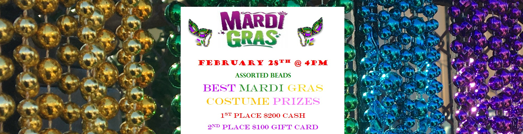 mardi gras party backyard grill restaurant