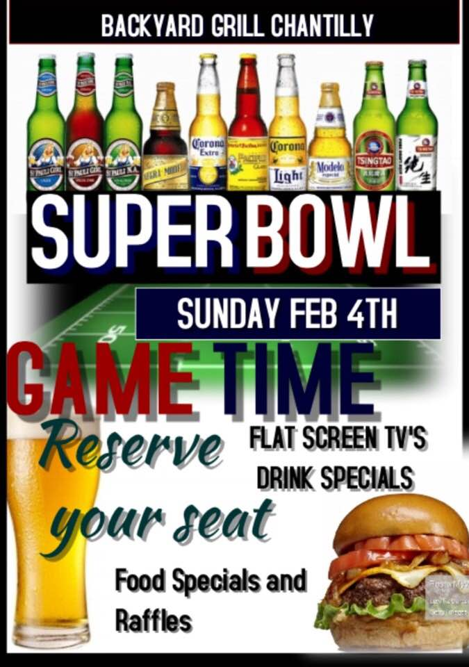 superbowl in chantilly