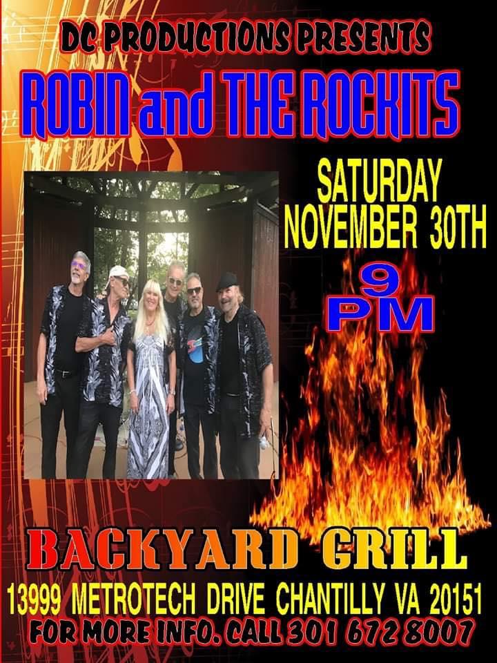Robin And The Rockits - Backyard Grill Restaurant