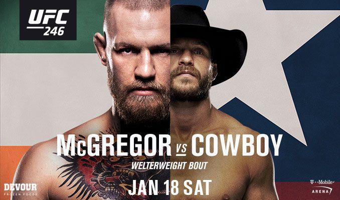 Watch The McGregor vs Cowboy UFC Fight