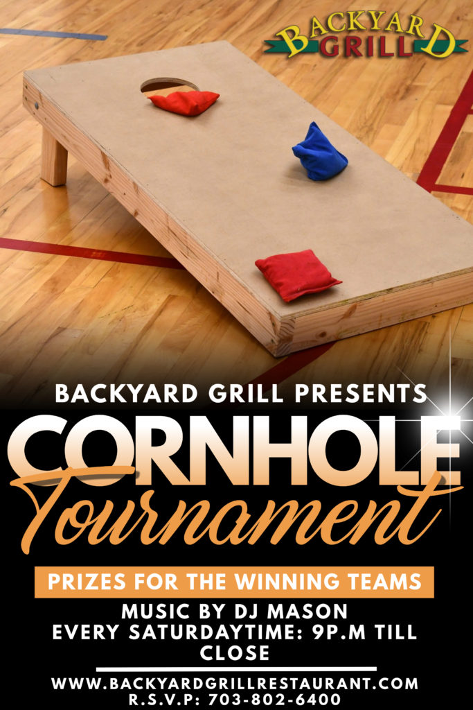 Cornhole Tournament - Backyard Grill, Chantilly