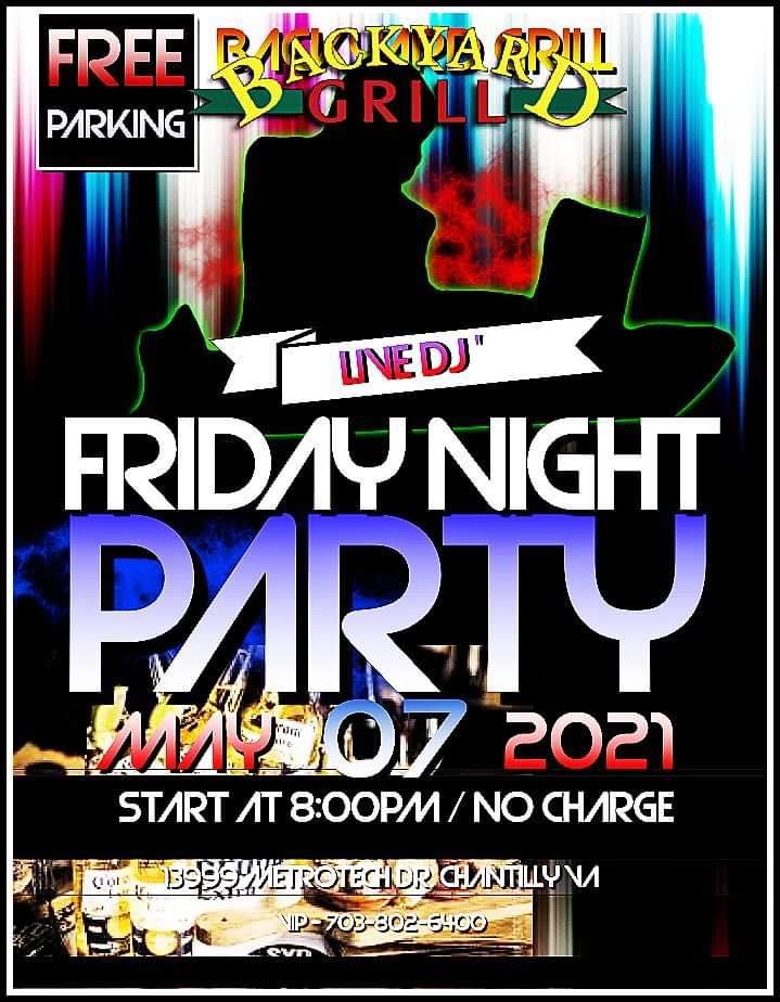 FRIDAY NIGHT PARTY
